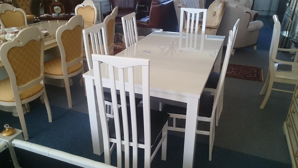 étkezőasztal Fehér ~ Otthoni Tervezés Inspiráció